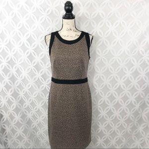Tahari Animal Print Sheath Dress